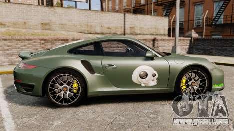 Porsche 911 Turbo 2014 [EPM] Ghosts para GTA 4 left