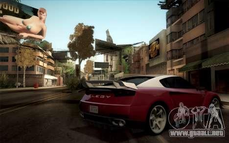 Elegy RH8 from GTA V para la visión correcta GTA San Andreas
