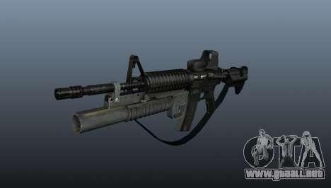 Automático carabina M4A1 v3 para GTA 4