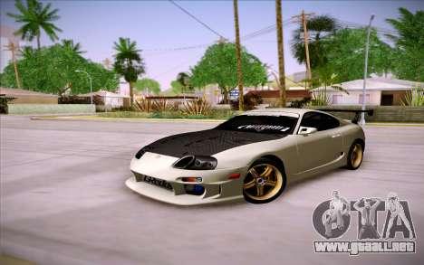 Toyota Supra RZ 1998 Drift para visión interna GTA San Andreas