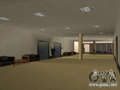 Nuevas texturas Interior Ayuntamiento para GTA San Andreas novena de pantalla