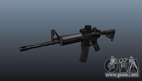 Automático carabina M4A1 táctico para GTA 4