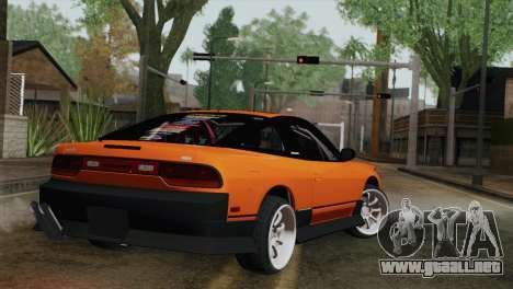 Nissan 240Sx Drift Edition para GTA San Andreas left