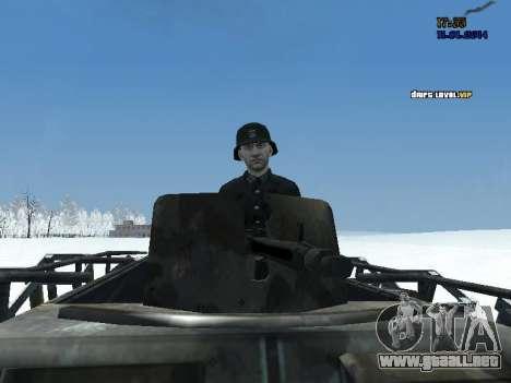 SdKfz 251 para la visión correcta GTA San Andreas