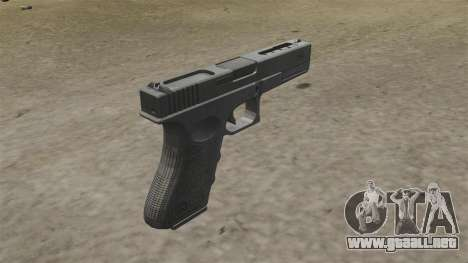 Auto Glock 18C MW2 para GTA 4 segundos de pantalla
