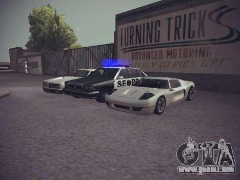 GTA SA Low Style v1 para GTA San Andreas sexta pantalla