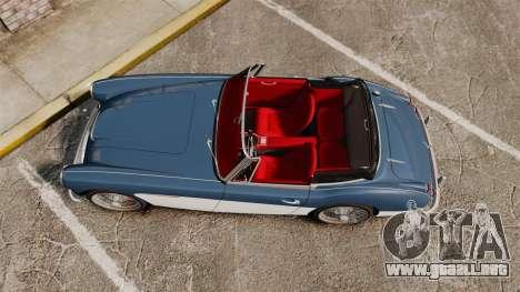 Austin-Healey 3000 Mk III 1965 para GTA 4 visión correcta