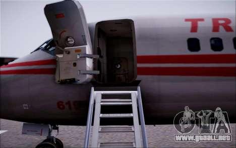 McDonnel Douglas DC-9-10 para vista inferior GTA San Andreas