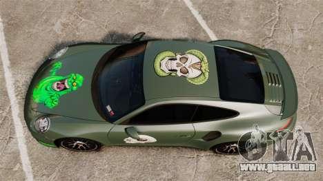 Porsche 911 Turbo 2014 [EPM] Ghosts para GTA 4 visión correcta