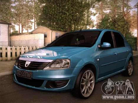 Dacia Logan GrayEdit para GTA San Andreas
