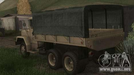 AM General M35A2 1950 para GTA San Andreas left