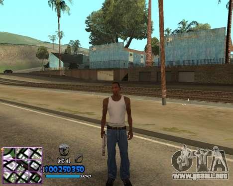 C-HUD by Dony Scofield para GTA San Andreas segunda pantalla