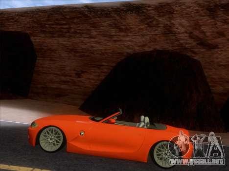 BMW Z4 Edit para la visión correcta GTA San Andreas