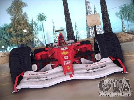 Ferrari F1 2005 para visión interna GTA San Andreas