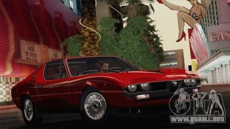 Alfa Romeo Montreal (105) 1970 para vista lateral GTA San Andreas