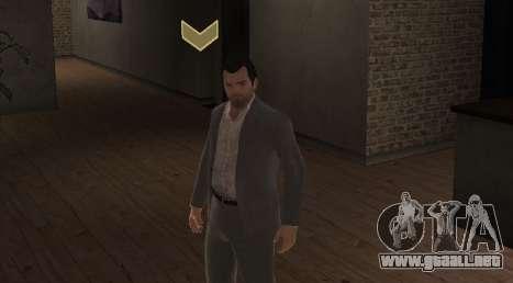 Michael De Santa from GTA V para GTA 4 segundos de pantalla