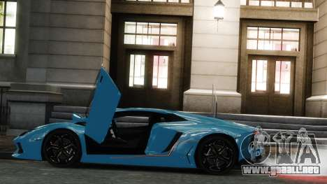 Lamborghini Aventador LP700-4 [EPM] 2012 para GTA 4 left