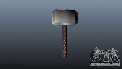 El martillo de Thor para GTA 4