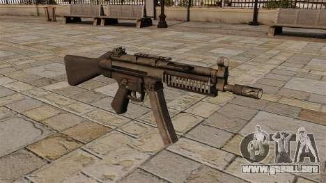Subfusil HK MP5 para GTA 4
