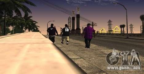 HQ SkinPack Ballas para GTA San Andreas tercera pantalla
