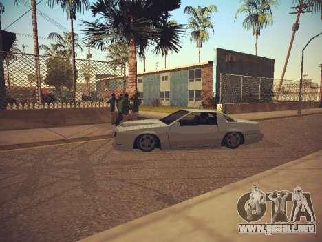 GTA SA Low Style v1 para GTA San Andreas sucesivamente de pantalla
