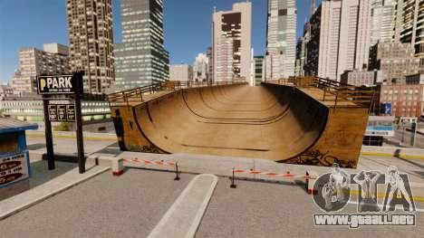 Algonquin Stunt Ramp para GTA 4