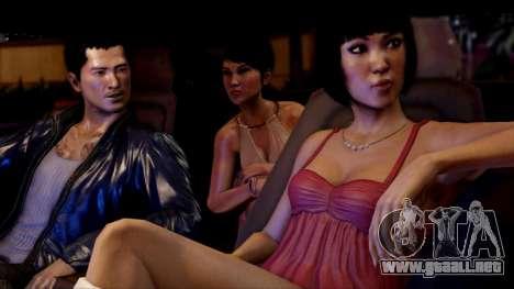 Arranque pantalla Sleeping Dogs para GTA 4 tercera pantalla
