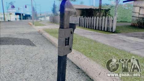 Llave ajustable para GTA San Andreas sucesivamente de pantalla