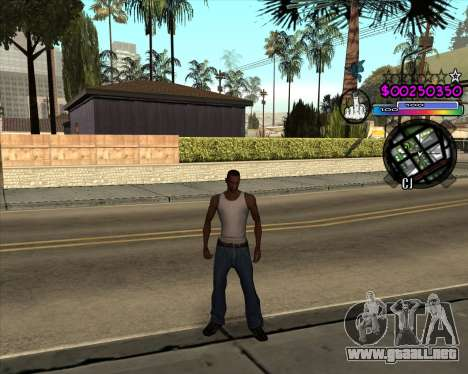 C-HUD by Andy Cardozo para GTA San Andreas