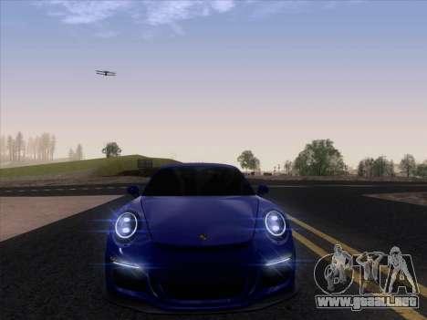 Porsche 911 GT3 2014 para GTA San Andreas vista hacia atrás