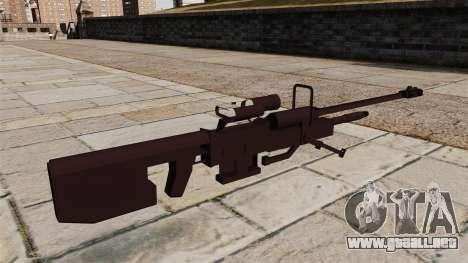 Rifle de francotirador de Halo para GTA 4 segundos de pantalla