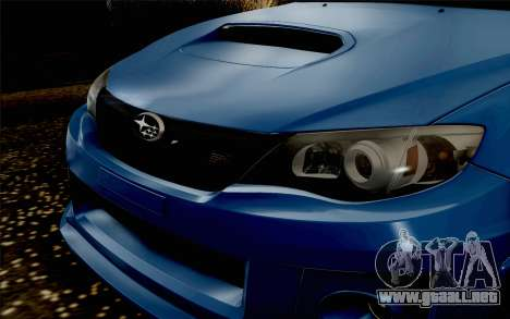 Subaru Impreza WRX STi 2011 para la visión correcta GTA San Andreas