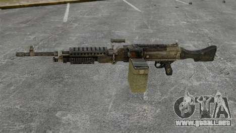 Ametralladora de propósito general M240B para GTA 4 tercera pantalla