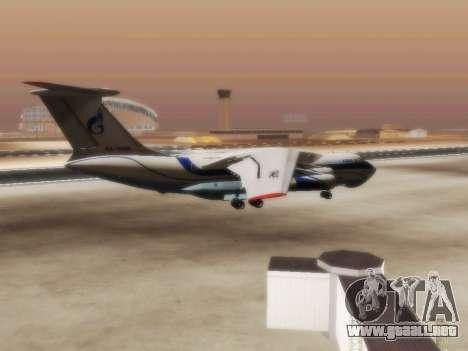 Il-76td Gazpromavia para la visión correcta GTA San Andreas