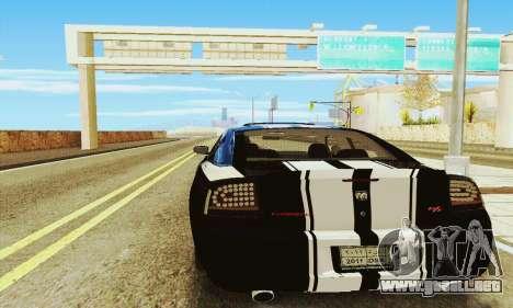 Dodge Charger DUB para la visión correcta GTA San Andreas