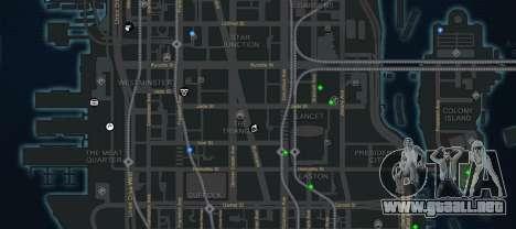 CG4 Radar Map v1.1 para GTA 4 tercera pantalla
