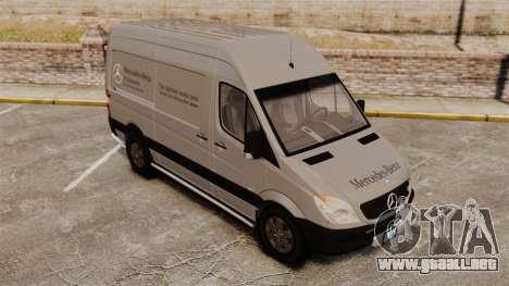 Mercedes-Benz Sprinter 2500 2011 v1.4 para GTA 4 ruedas