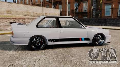 BMW M3 1990 Race version para GTA 4 left