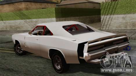 Dodge Charger 6o para GTA San Andreas left
