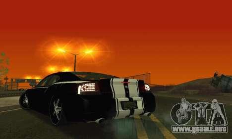 Dodge Charger DUB para vista inferior GTA San Andreas