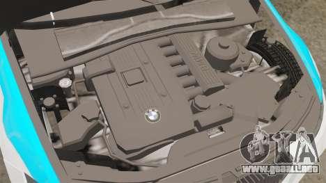BMW 350i NYPD [ELS] para GTA 4 vista interior