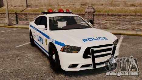 Dodge Charger 2012 LCPD [ELS] para GTA 4
