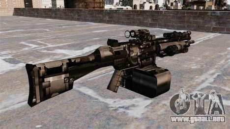 Ametralladora de propósito general HK23E para GTA 4 segundos de pantalla
