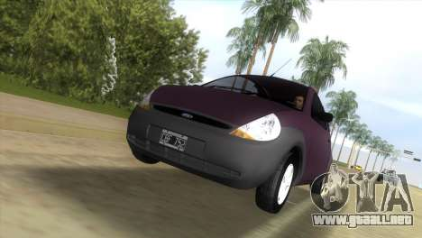 Ford Ka para GTA Vice City vista lateral izquierdo
