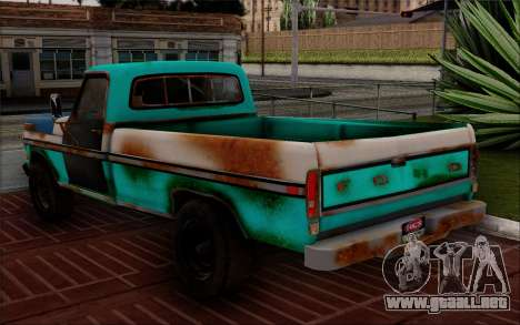 Ford F-150 Old Crate Edition para GTA San Andreas left