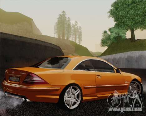 Mercedes-Benz CL65 para GTA San Andreas left