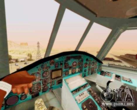 MI-26 para GTA San Andreas vista hacia atrás