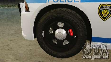 Dodge Charger 2012 LCPD [ELS] para GTA 4 vista interior