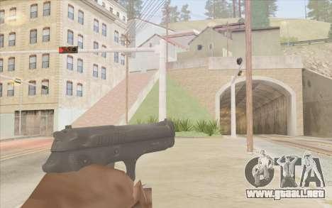 Pistola Stechkin para GTA San Andreas segunda pantalla