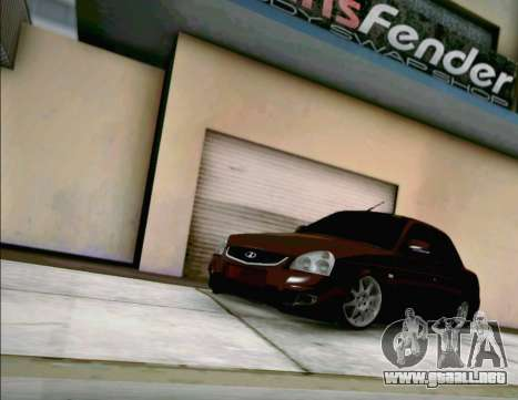 LADA Priora 2170 para GTA San Andreas left